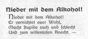 Gedicht von Heinrich Kämpchen (1909)